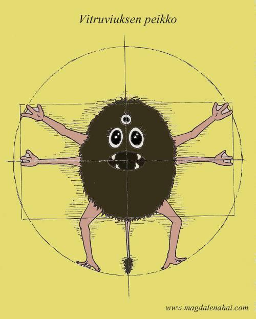 Vitruviuksen peikko/The Vitruvian Troll