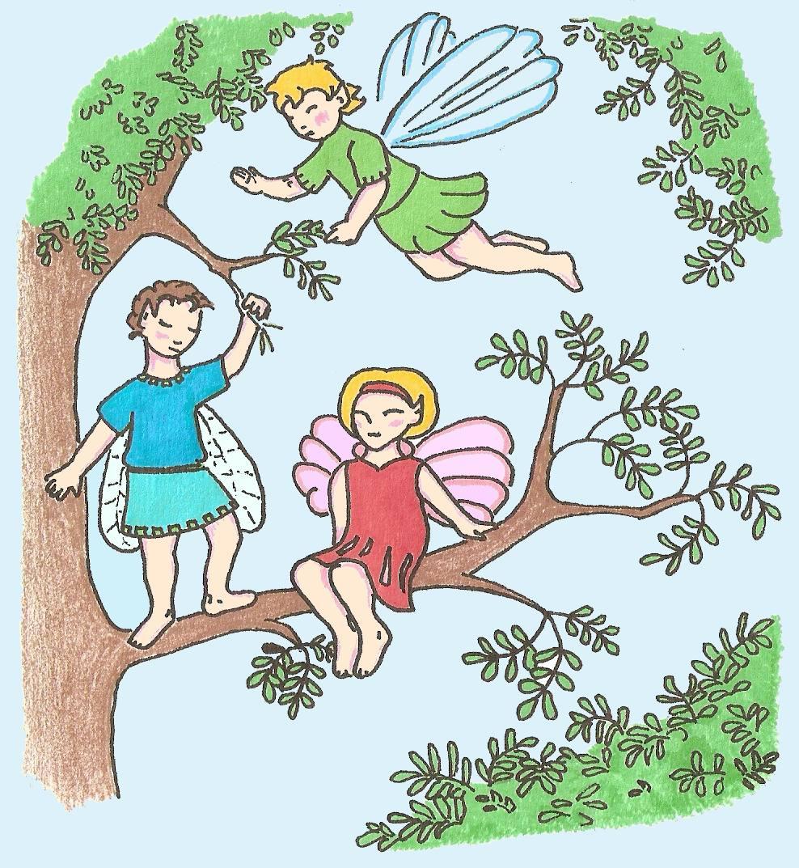 Keijut puussa