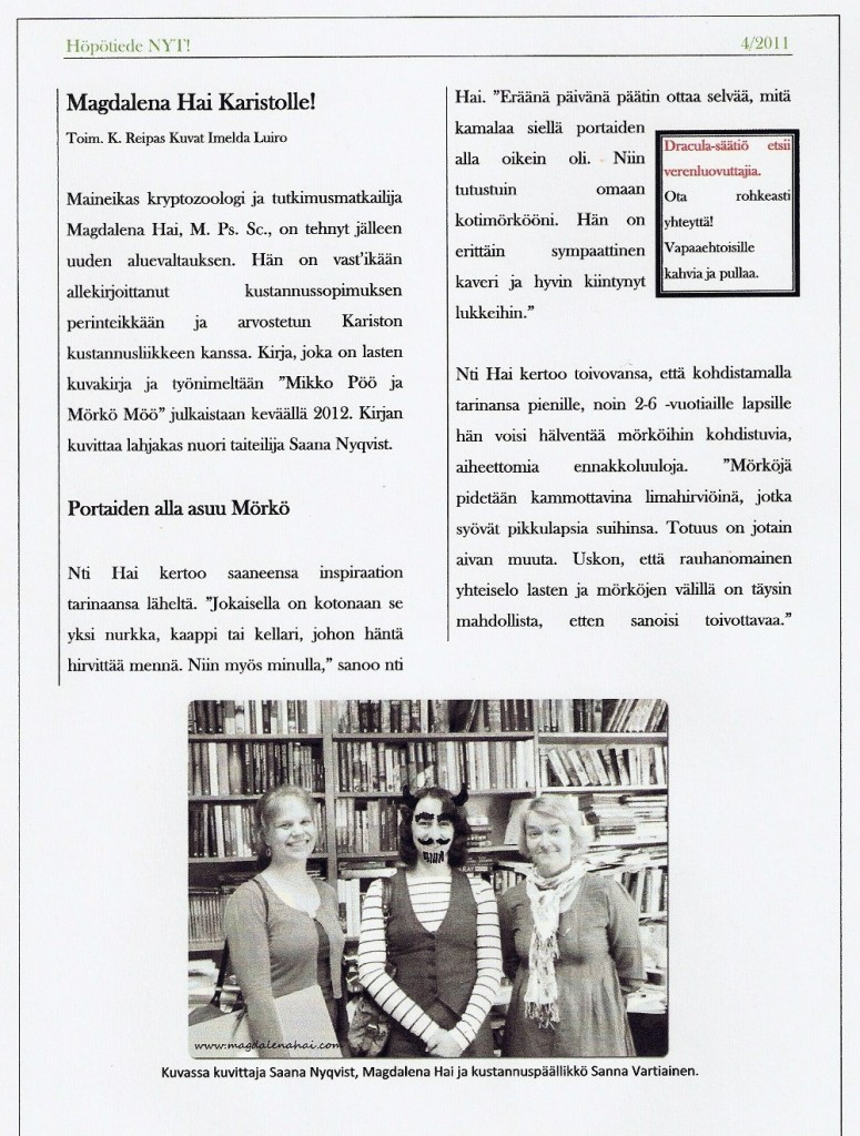 Magdalena Hai Karistolle