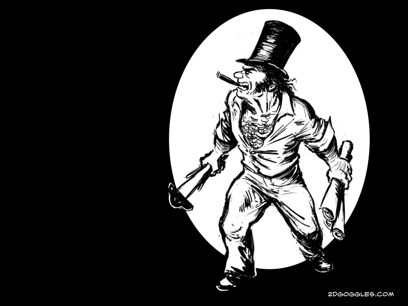 Isambard Kingdom Brunel sarjakuvissa